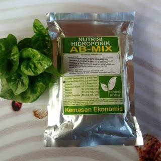Nutrisi ABMix hidroponik
