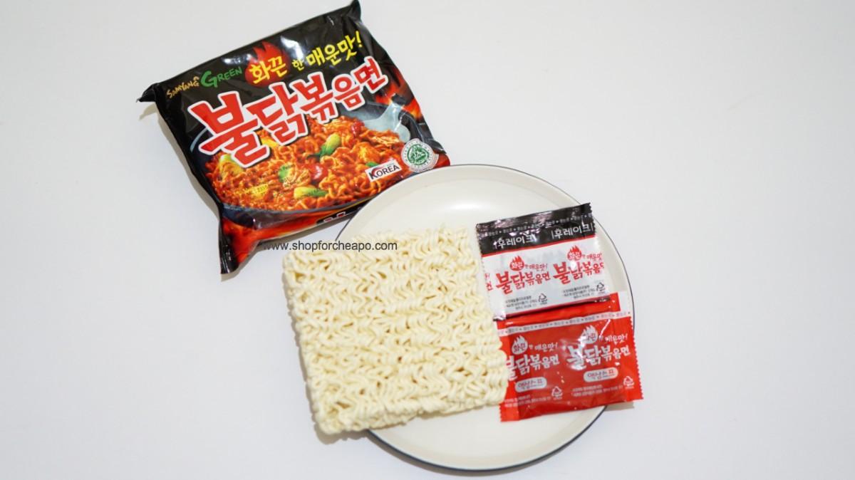 mie sedaap korean spicy chicken vs samyang