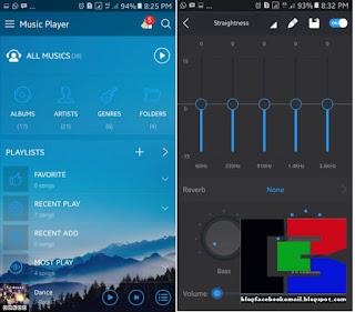 Aplikasi pemutar musik android music player