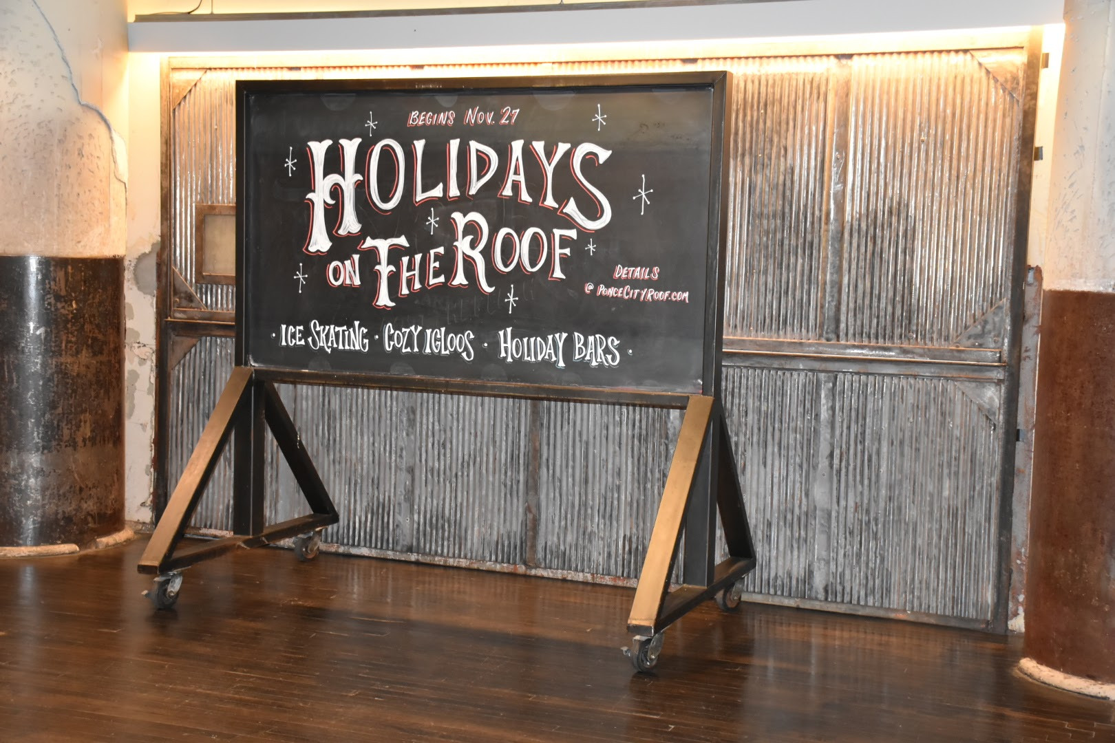Holidays on the Roof at Ponce City Market