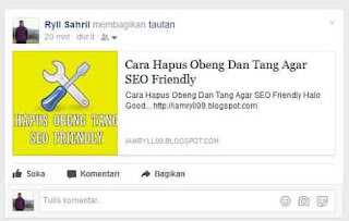 Tips Auto Share Post Blog Ke Social Media