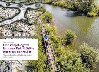 Foto cover Landschapsbiografie Nationaal Park NLDelta/Biesbosch-Haringvliet. Een van de vier landschapsbiografieen