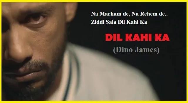 Dil Kahi Ka Lyrics in Hindi - Dino James, Dil Kahi Ka Lyrics