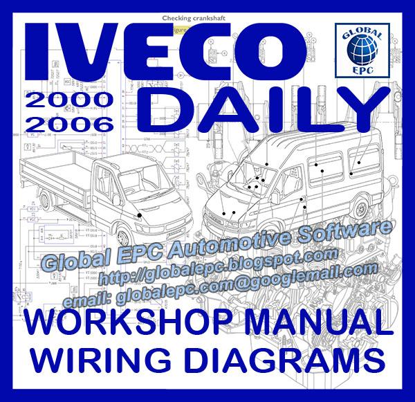 automotive repair manuals iveco daily 20002006 repair
