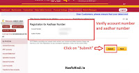 how to link Aadhar number to Punjab National Bank