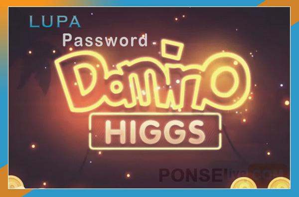 lupa password higgs domino tanpa nomor hp email akun fb