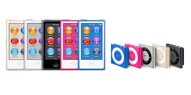 iPod Nano and Shuffle