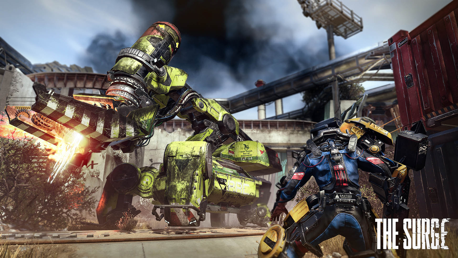 The Surge (PS4) Review   Geek of Oz