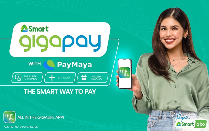 Smart elevates GigaLife App with new 'GigaPay with PayMaya' feature