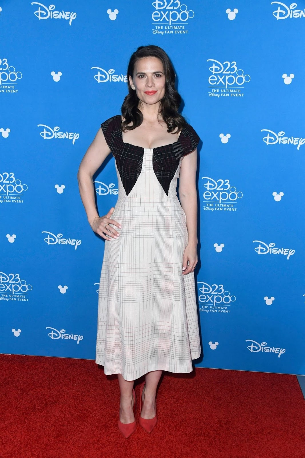 Hayley Atwell – D23 Disney+ Event in Anaheim 08/23/2019