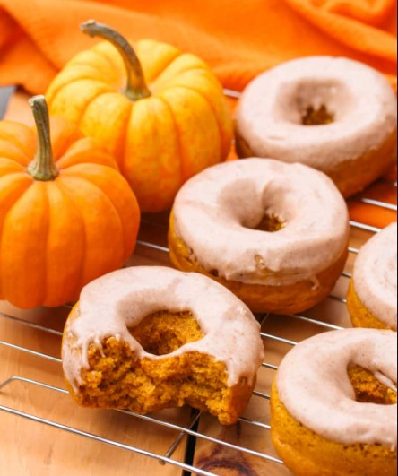 Pumpkin Donuts Recipe