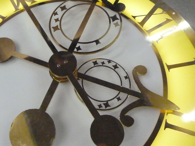 Interior Clocks and Feature Clocks: Disney's new London