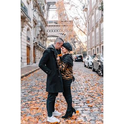 Sandy e Lucas Limas em Paris — Foto: Reprodução/Instagram