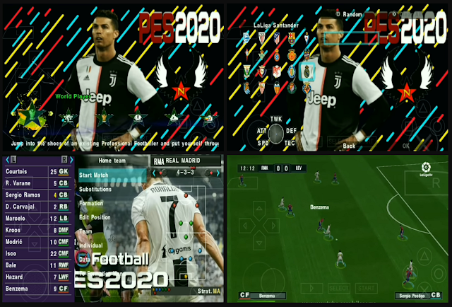 Download PES 2020 PPSSPP Ultimate Eropa & Shopee Liga 1