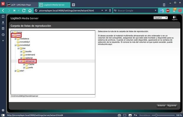 Volumio frente a piCorePlayer en la Raspberry Pi: un análisis comparativo Logitech%2BMedia%2BServer_966