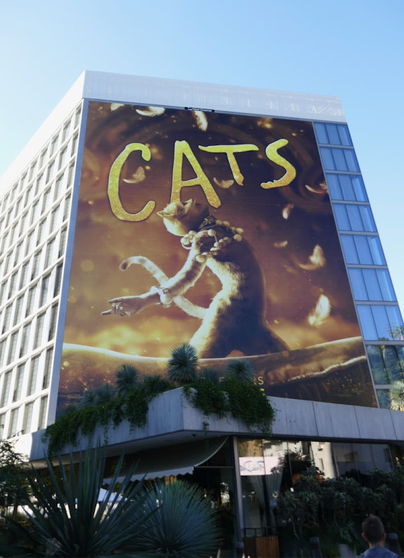 Giant Cats film billboard