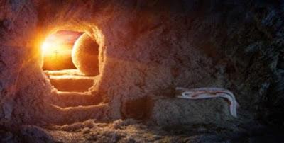 Dove il corpo di Gesù aveva posato, Pietro poteva solo vedere i vestiti di lino