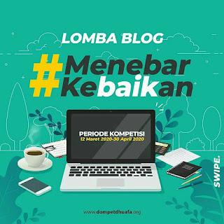"Lomba Blog ""Menebar Kebaikan"""