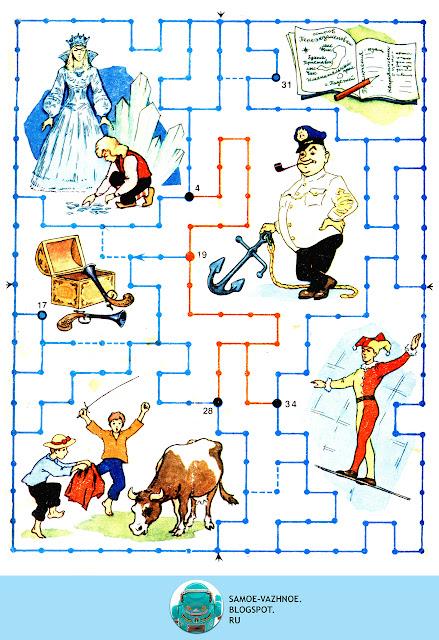 Настольная игра для детей распечатать СССР, советская. В стране приключений Раевский 1987 1989 игра.