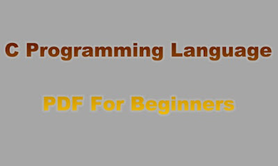 C Programming Language PDF For Beginners