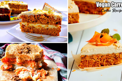 Vegan Carrot Cakes Recipe