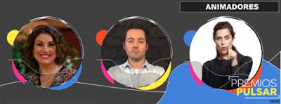 Trío de animadores liderará la versión digital de los Premios Pulsar 2020