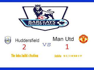 Huddersfield vs Manchester United Liga Inggris
