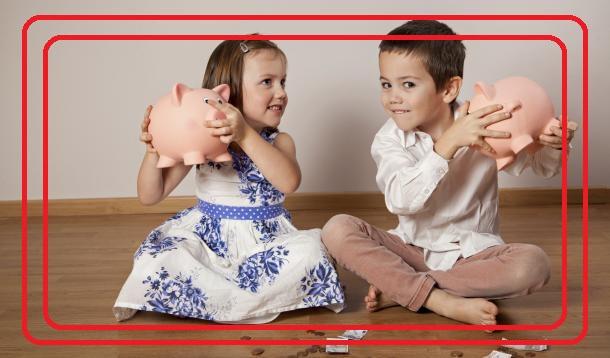 علاقة الطفل بالنقود