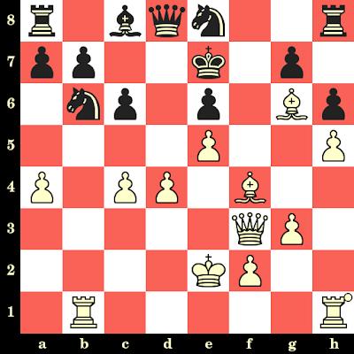 Les Blancs jouent et matent en 4 coups - Michael Kirsch vs Edwards Francis, Skopje, 1972