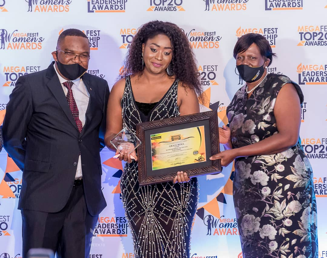 Grace Bema - Megafest National Business Awards 2020