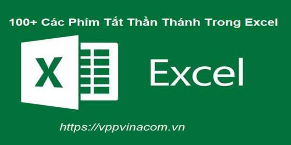 cac phim tat trong excel