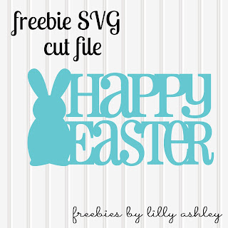 Freebie Easter SVG Cut file