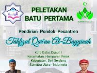 Korma Preneur Ikut Serta Membangun Pondok Pesantren Tahfizul Qur'an Al-Bayyinah