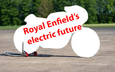Royal Enfield's electric future is a blank.