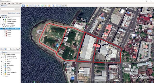 Tutorial Digitizing (Point, Line, Polygon) Menggunakan Google Earth