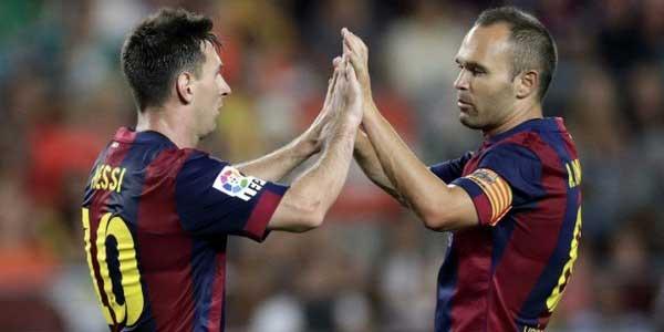 Iniesta Ukir Dua Rekor Baru Bersama Barcelona