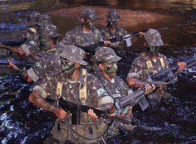 Como seria uma guerra entre Brasil x Venezuela?