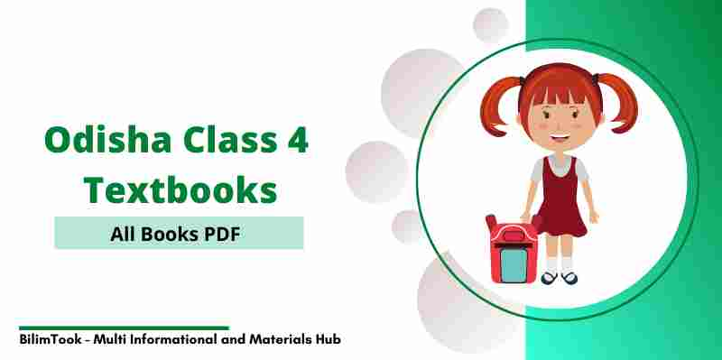 Odisha Board Class 4 All Books PDF Download - 2021