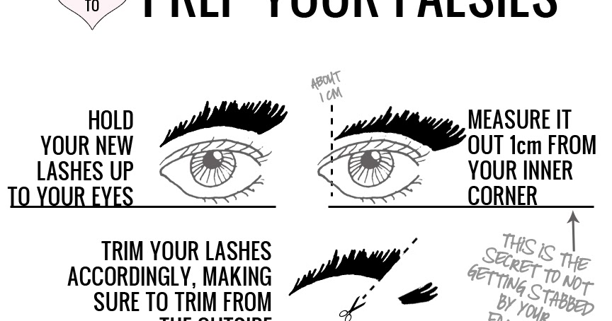 Nami M. Scott: Life Enthusiast: How To: Falsies (Insert a