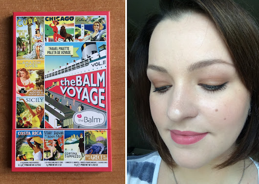 TheBalm Voyage Vol. 2 Face Palette: Review, Swatches And Look