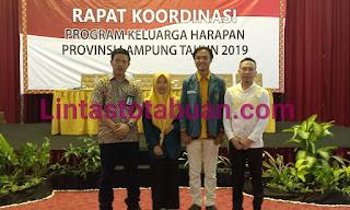 Rapat Koordinasi Program Keluarga Harapan ( PKH ) Tingkat Provinsi Lampung tahun 2019