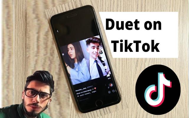كيفية إنشاء مقاطع فيديو دويتو بصوت مرتفع على تيك توك TikTok