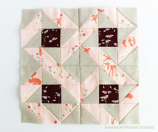 Circle of Friends Quilt Block | Shannon Fraser Designs | Modern Quilting | Sew-A-Long | Sewcial Bee Sampler with Sharon Holland Designs & Maureen Cracknell