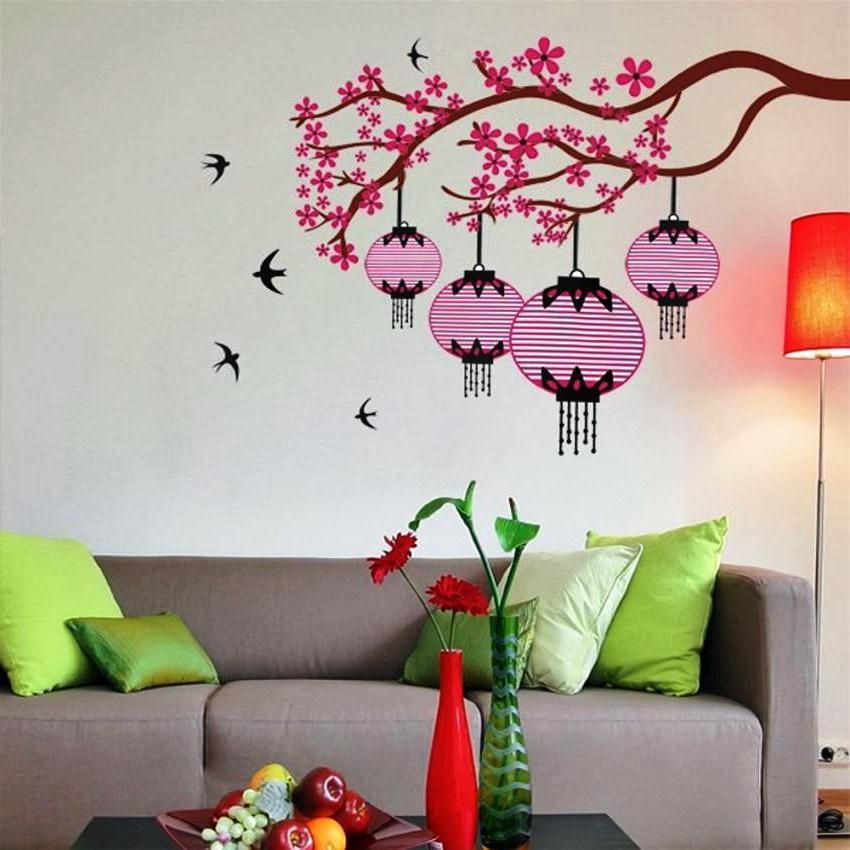 Wallpaper Dinding Ruang Tamu Mungil