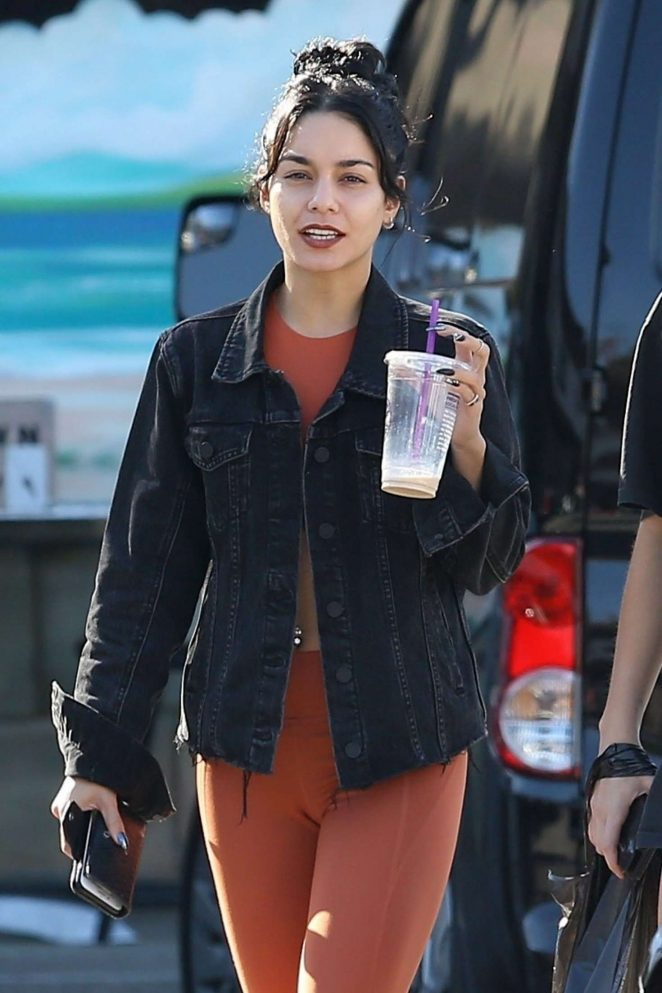 Vanessa Hudgens Spotted in Miami City