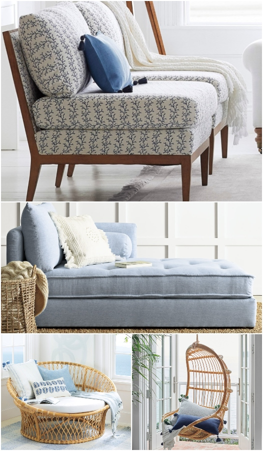 Accent Chairs for Coastal Living