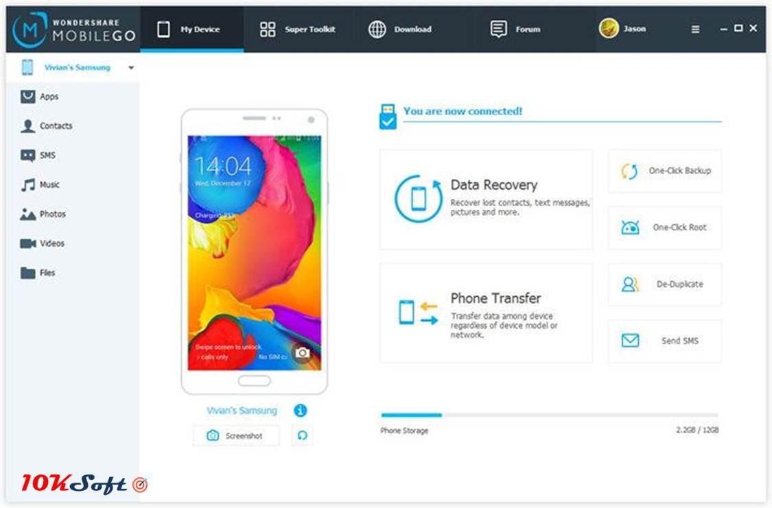 Wondershare MobileGo 8 Offline Installer Direct Download Link