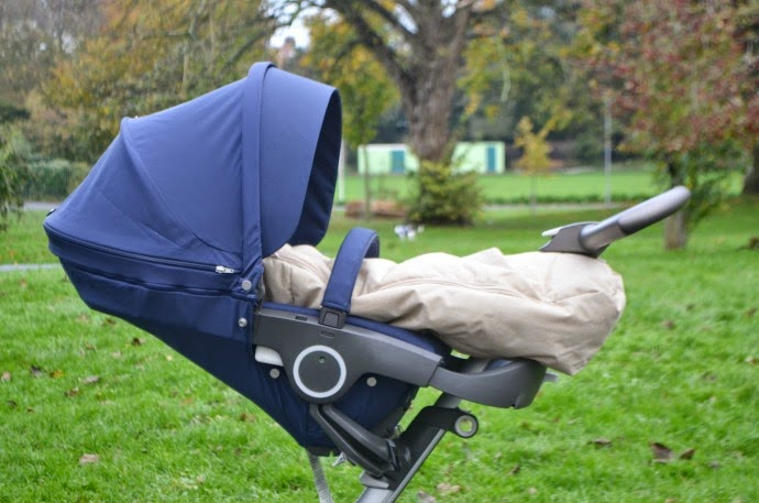 stokke xplory, stokke pushchair, stokke review, xplory v4, deep blue