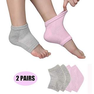 best moisturizing gel heel socks