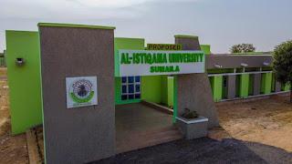 Al-Istiqamah University Pre-Degree & IJMB Form 2020/2021